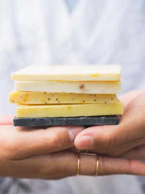 organic soap sampler