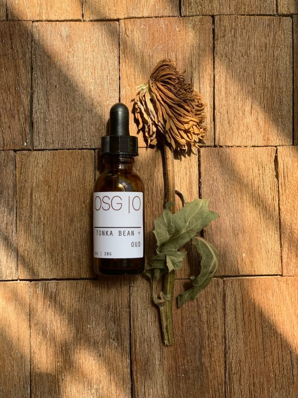 tonka bean + oud – beard oil