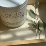 calm soy candle